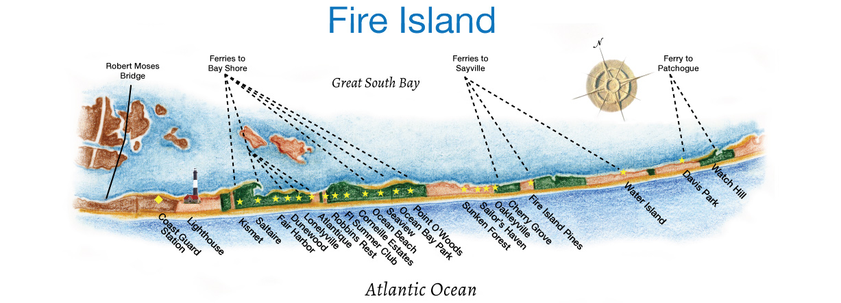 Fire-Island-Map Fire Island Finder